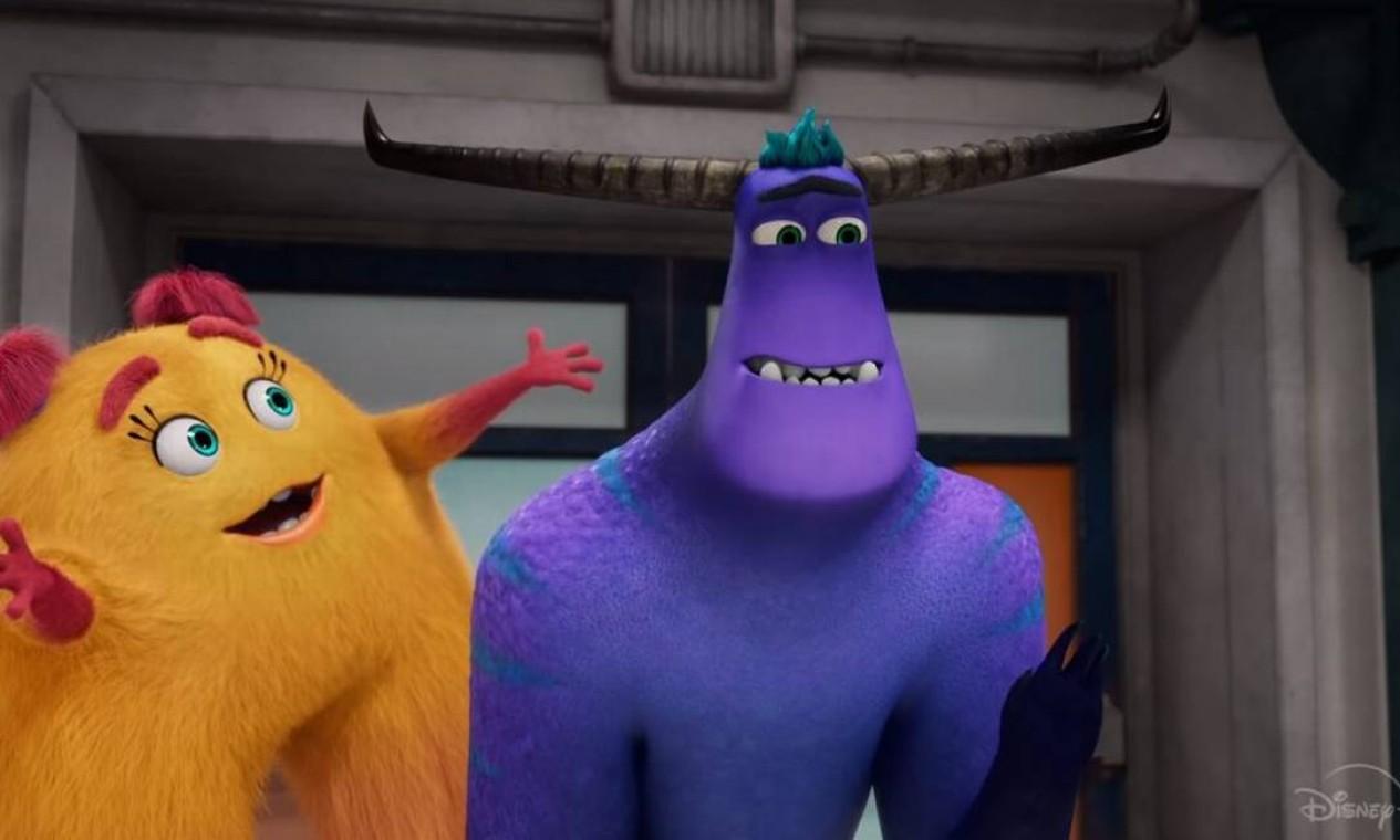 'Monstros no trabalho', série da Disney+. Foto: Divulgação