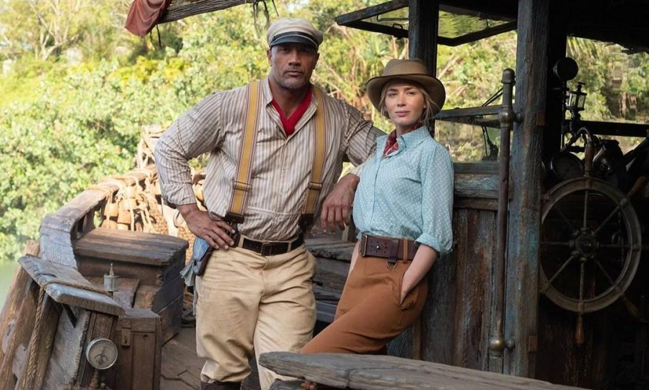 'Jungle Cruise', filme da Disney+. Foto: Divulgação