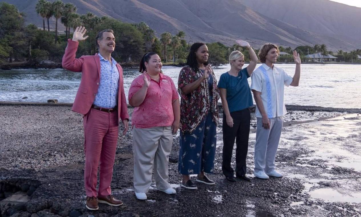 'The White Lotus', série da HBO Max. Foto: Divulgação