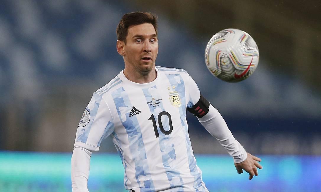 Lionel Messi - Atacante - Argentina Foto: RODOLFO BUHRER / REUTERS