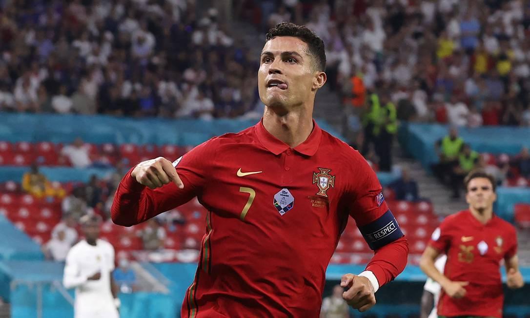 Cristiano Ronaldo - Atacante - Portugal Foto: BERNADETT SZABO / AFP