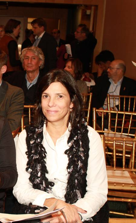 Andrea Barata Ribeiro, produtora de cinema Foto: Luiz Ribeiro / TV Globo