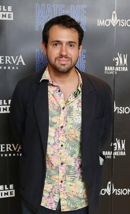 João Atala, diretor de cinema Foto: Ali Karakas / Divulgação