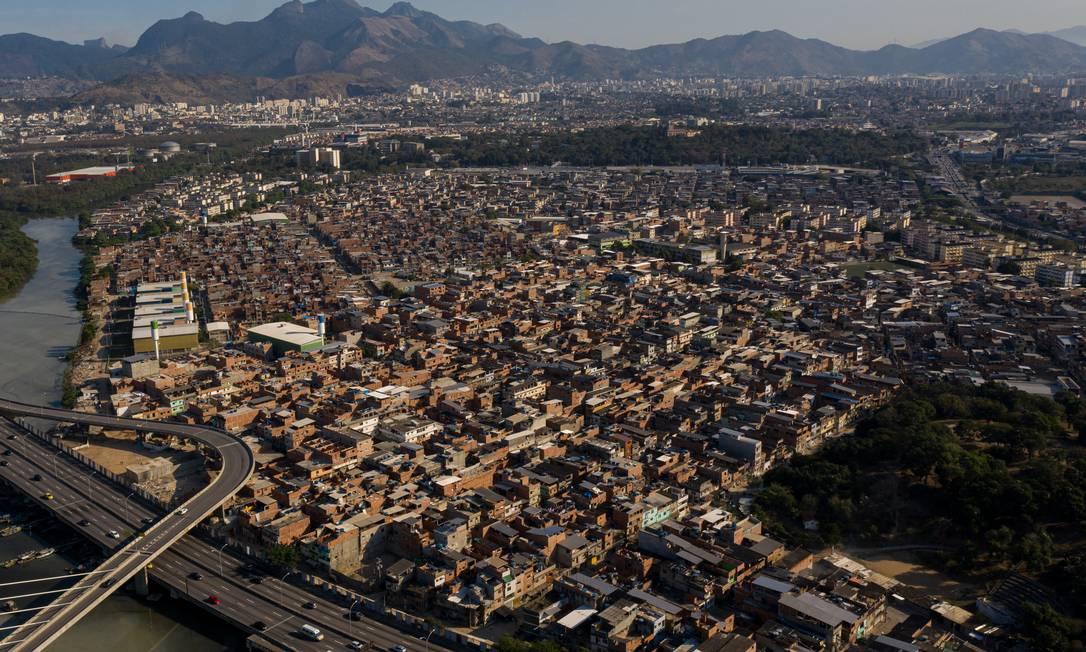 Favela da Maré, Zona Norte do Rio Foto: Brenno Carvalho / Agência O Globo