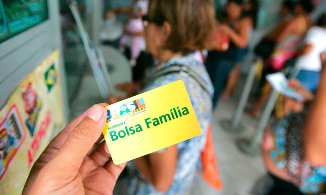 Cartão do Bolsa Família: governo quer elevar recursos para programa Foto: Divulgação