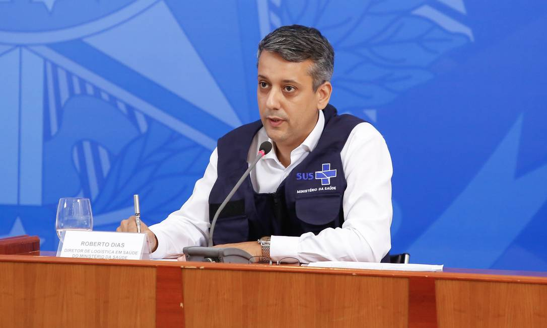 Roberto Dias, ex-diretor de Logística em Saúde do Ministério da Saúde. Foto: Anderson Riedel / PR
