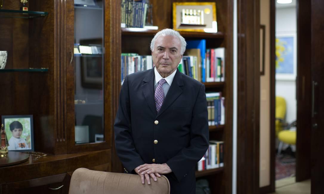 Michel Temer, ex-presidente da República, em maio de 2021 Foto: Edilson Dantas / Agência O Globo