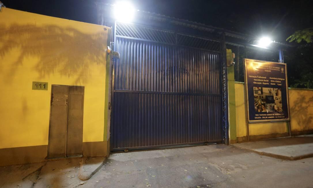 As jovens que relataram o assédio foram transferidas Foto: Domingos Peixoto / Agência O Globo