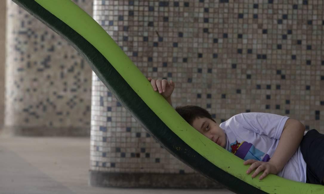 Atividade física melhora saúde de crianças com TEA Foto: Márcia Foletto / Agência O Globo