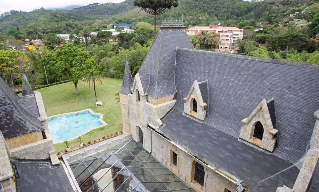 O Castelo de Itaipava está com promoção de pacotes para os feriados Foto: Laura Marques