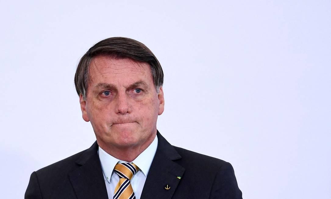 O presidente Jair Bolsonaro 10/11/2021 Foto: EVARISTO SA / AFP