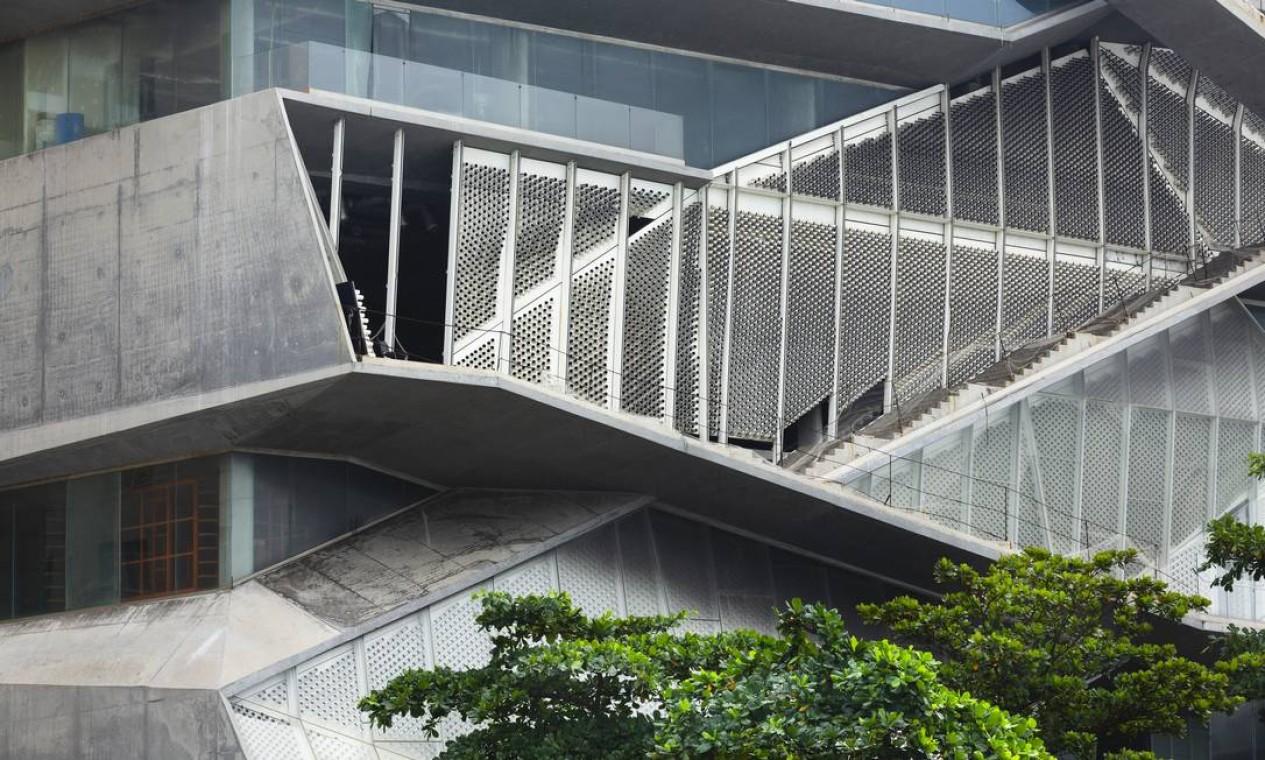 Governo do estado anuncia retomada das obras do Museu da Imagem e do Som Foto: Leo Martins / Agência O Globo