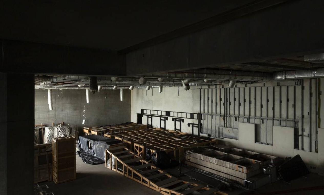 A ideia da nova sede do MIS surgiu em 2008, com o bjetivo de revitalizar o museu e dar um novo tratamento ao acervo, a partir de uma linguagem museográfica contemporânea Foto: Leo Martins / Agência O Globo