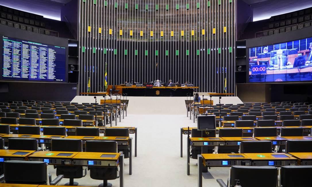 Câmara dos Deputados Foto: Pablo Valadares / Agência O Globo