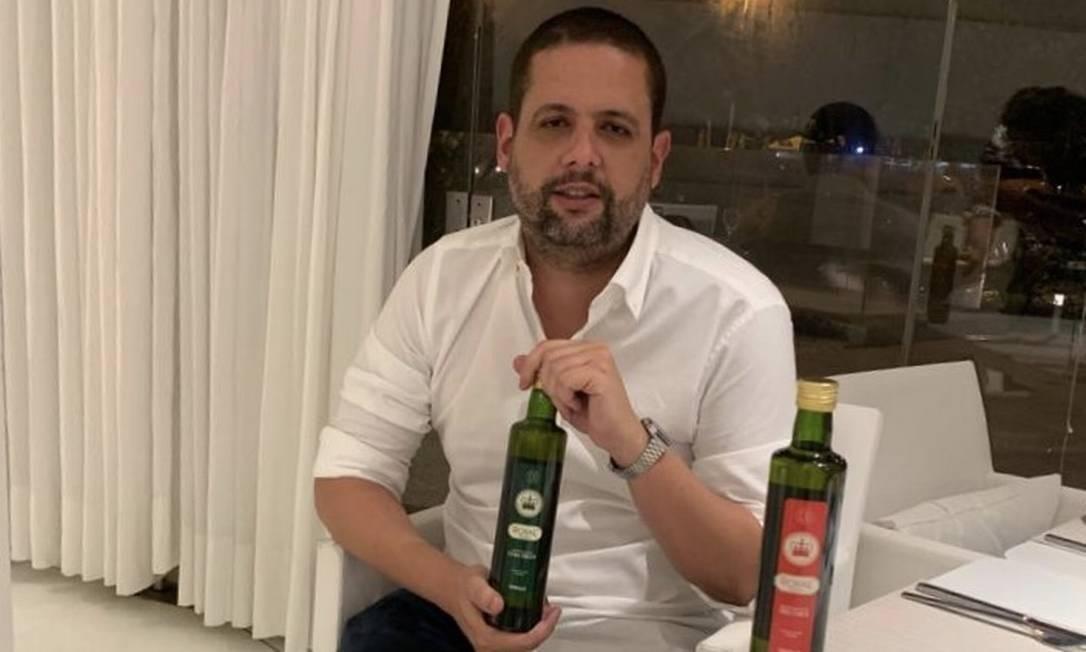 O empresário Eduardo Vinícius Giraldes Silva, patrocinador de clubes cariocas, é acusado de associação criminosa Foto: Reprodução
