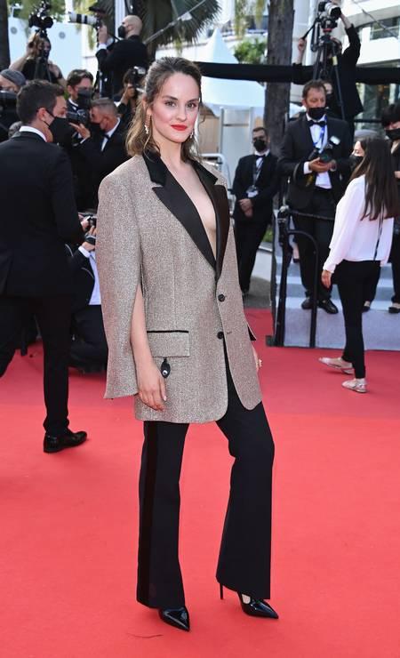 Noémie Merlant em Louis Vuitton Foto: Getty Images