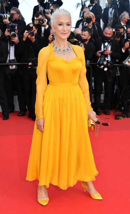 Helen Mirren em Dolce & Gabbana Foto: Getty Images