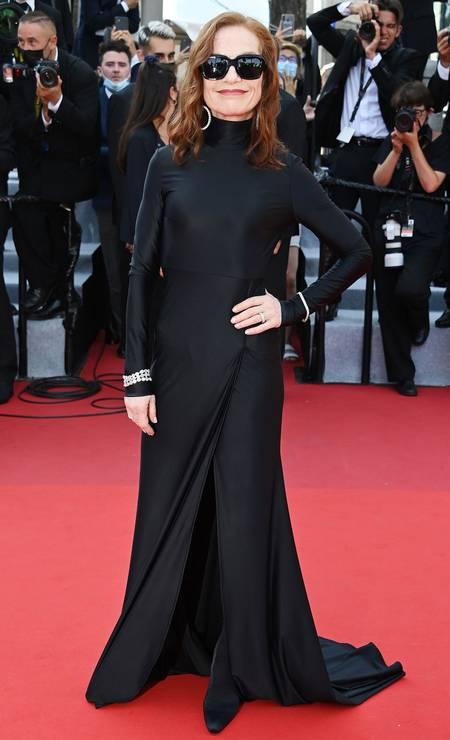 Isabelle Huppert em Balenciaga Foto: Getty Images