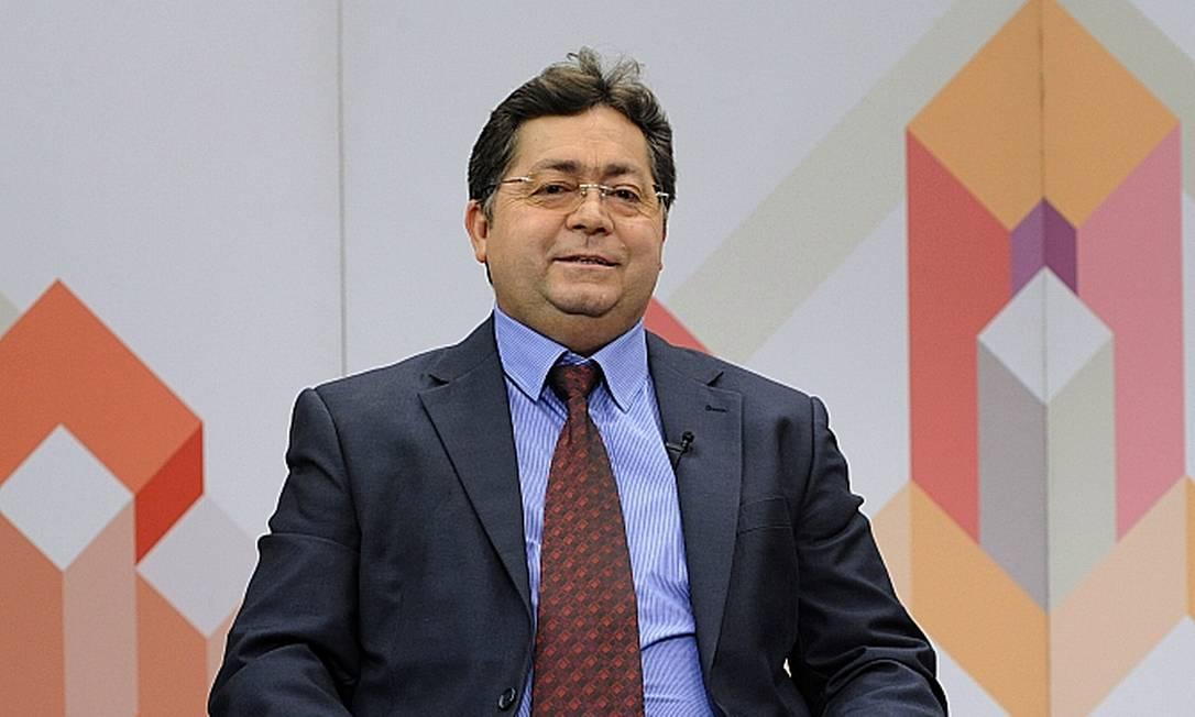 O médico veterinário Lauricio Monteira Cruz, durante entrevista Foto: Luis Macedo/Câmara dos Deputados/08-09-2015
