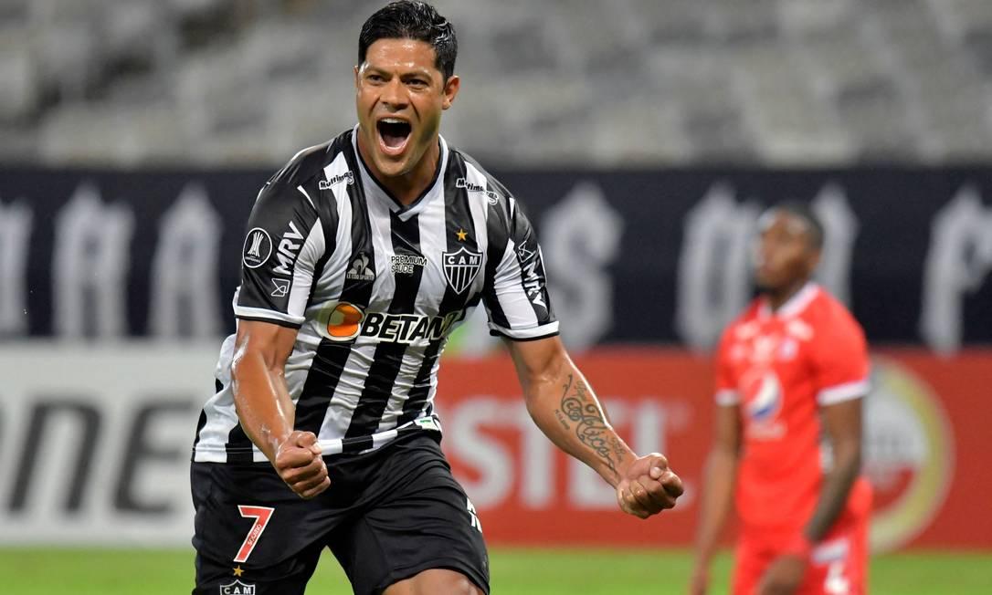 Ele passou quatro temporadas na China antes de desembarcar no Brasil para atuan no Atlético Mineiro, neste ano. O jogador de 34 anos acertou com o clube mineiro por duas temporadas Foto: WASHINGTON ALVES / AFP