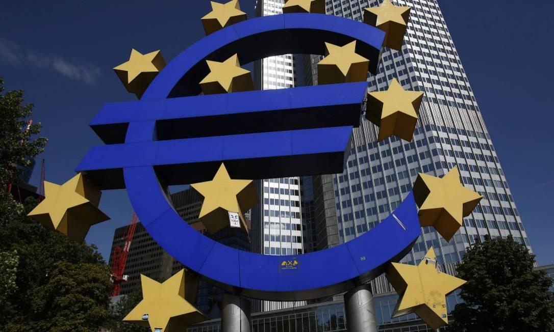 Banco Central Europeu anunciou primeira revisão de estratégia monetária desde 2003. Foto: ALEX DOMANSKI / Reuters