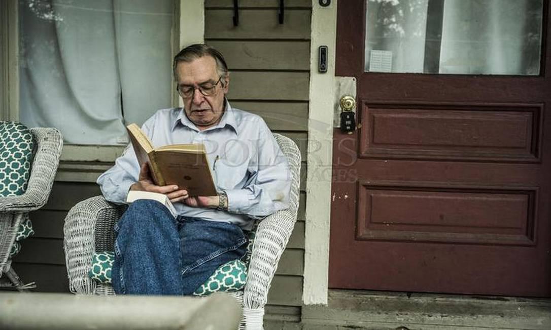 Olavo de Carvalho vive nos Estados Unidos desde os anos 2000 Foto: Jay Westcott / Polaris (12/10/17)