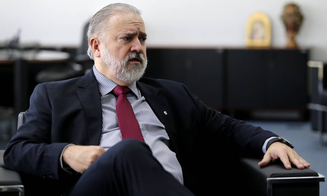 O Procurador-Geral da República, Augusto Aras 30/09/2019 Foto: Jorge William / Agência O Globo