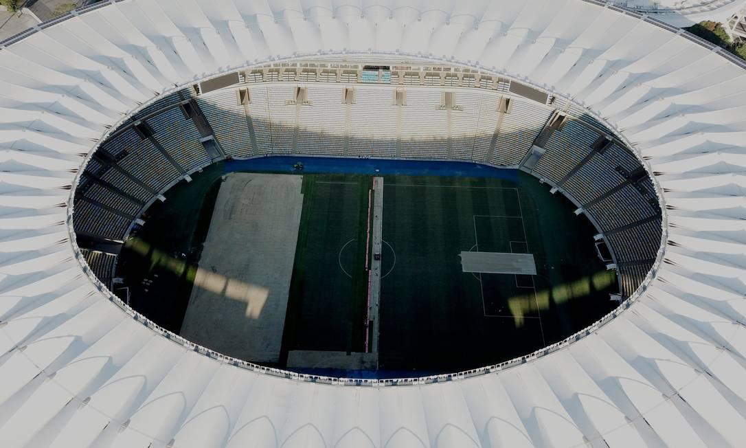Maracanã será palco da final da Copa América Foto: Custódio Coimbra / Agência O Globo