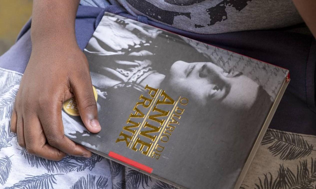 O diário da judia Anne Frank se tornou um dos livros mais lidos do mundo com relatos sobre perseguição nazista durante a Segunda Guerra Mundial Foto: Sergio Greif