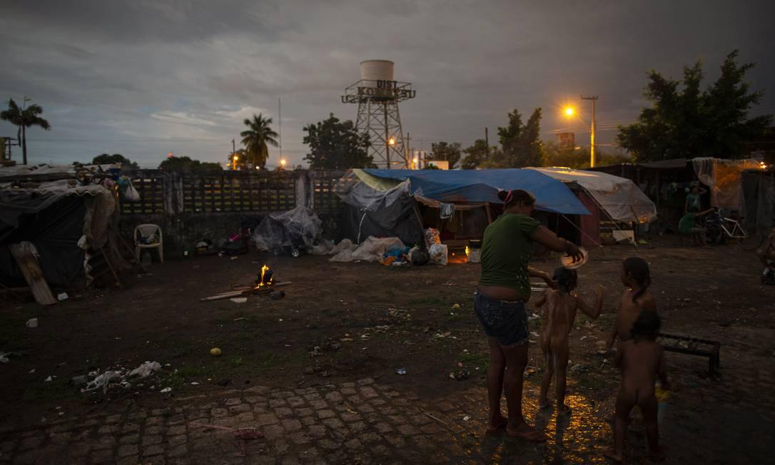 Crianças em Boa Vista, Roraima Foto: Daniel Marenco/27.07.2019 / Agência O Globo