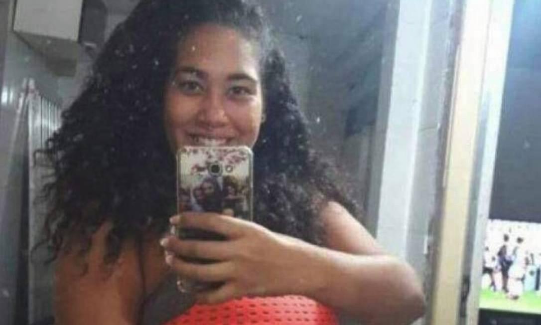 Thaysa Campos dos Santos, de 23 anos: grávida de oito meses sumiu e foi encontrada morta próximo à estação de trem de Deodoro Foto: Reprodução