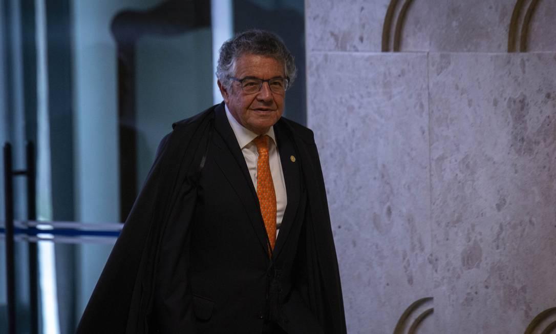 O ministro Marco Aurélio Mello Foto: Daniel Marenco / Agência O Globo