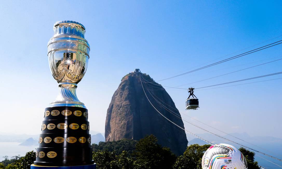 Brasil e Argentina decidem a Copa América neste sábado Foto: Divulgação / Conmebol