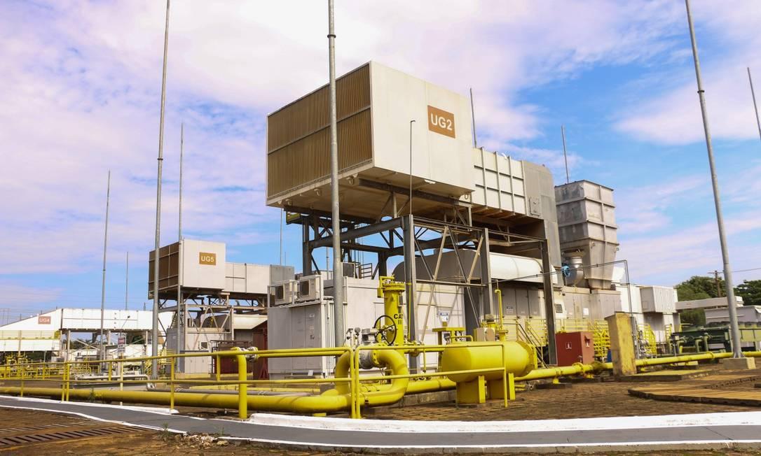 Termelétrica William Arjona, em Campo Grande, precisou ser religada por conta da crise hídrica. Foto: Infoglobo