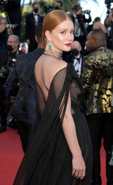 Marina Ruy Barbosa em Cannes Foto: Pascal Le Segretain / Getty Images