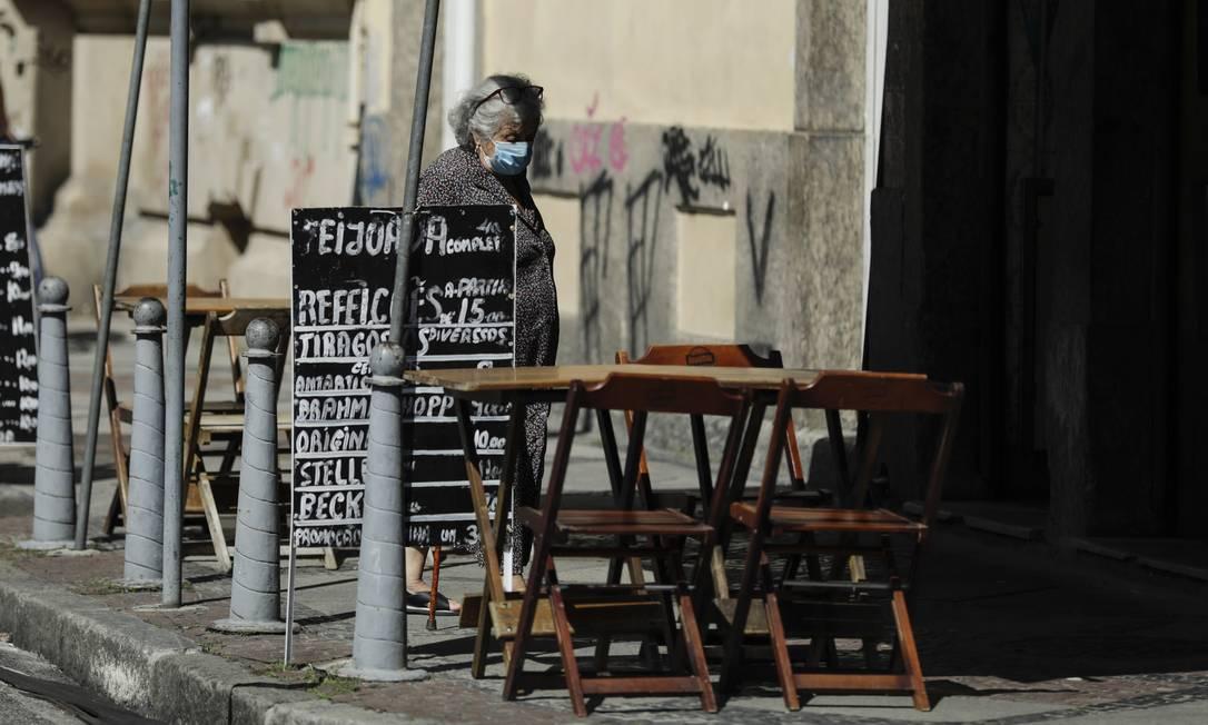A demanda por recursos do Pronampe está alta na volta do programa Foto: Gabriel de Paiva / Agência O Globo