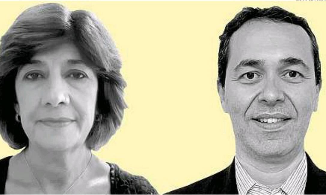 A epidemiologista Carla Domingues e o infectologista pediátrico Filipe da Veiga Foto: Montagem / Gustavo Duarte do Amaral