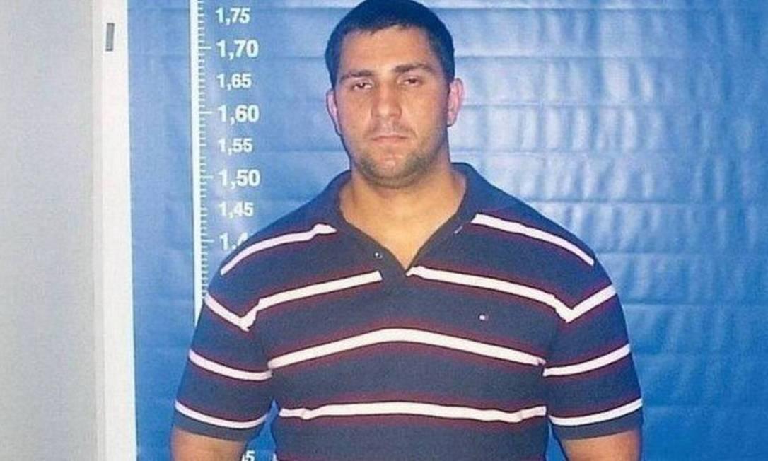 Adriano Magalhães da Nóbrega, ex-capitão do Bope e suspeito de integrar milícia Foto: Reprodução