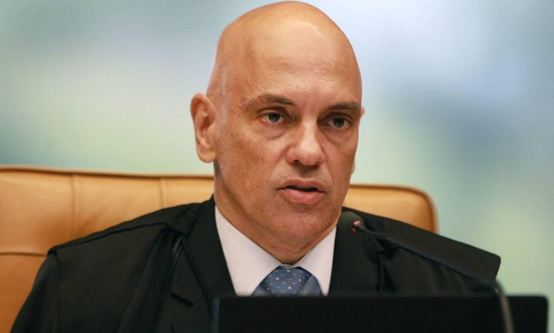 Alexandre de Moraes proíbe Sérgio Reis e outros alvos da PF de se aproximarem da Praça dos Três Poderes Foto: Nelson Jr. / SCO /STF