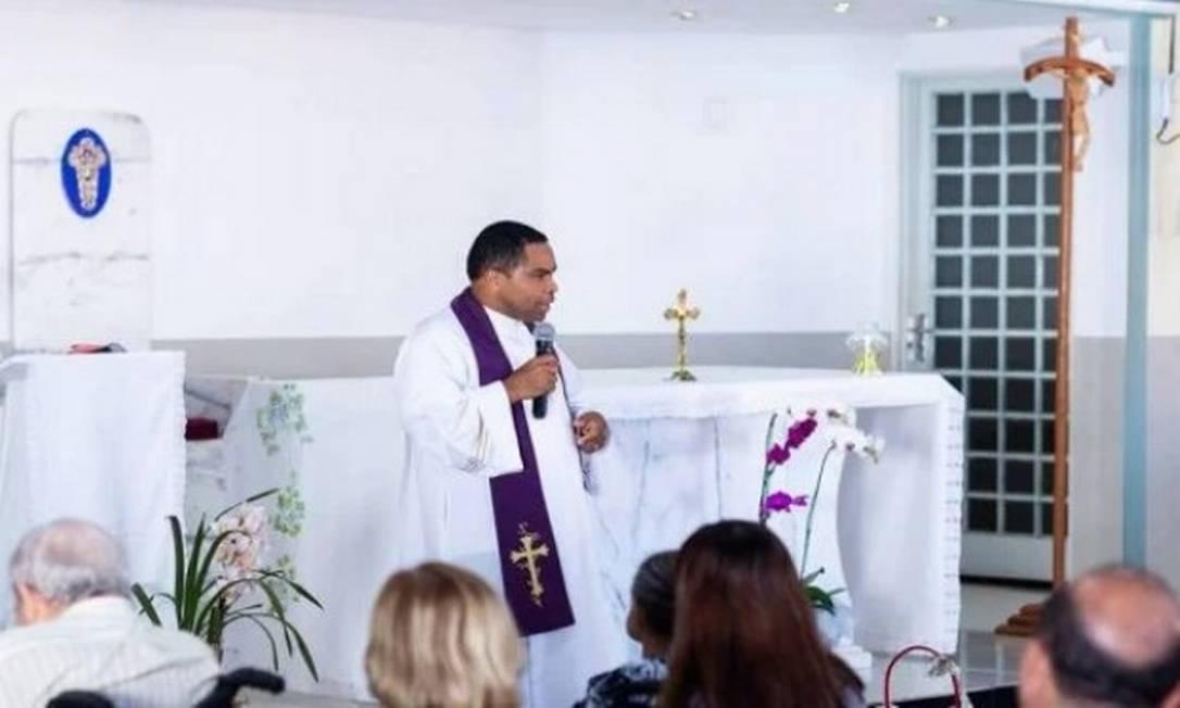 O padre Delson Zacarias Foto: Redes sociais / Reprodução