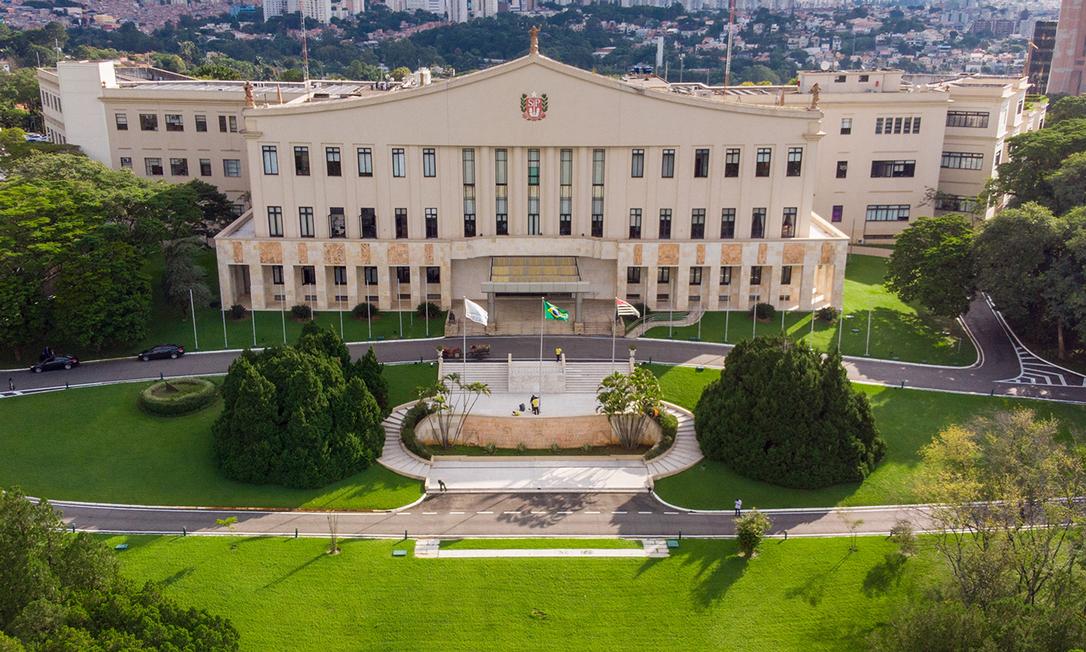 Palácio dos Bandeirantes, sede do governo de São Paulo Foto: Governo de São Paulo/ Divulgação
