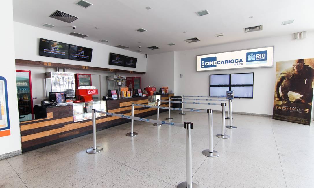 CineCarioca Méier voltou a receber o público em 15 de julho Foto: Divulgação/Kinoplex