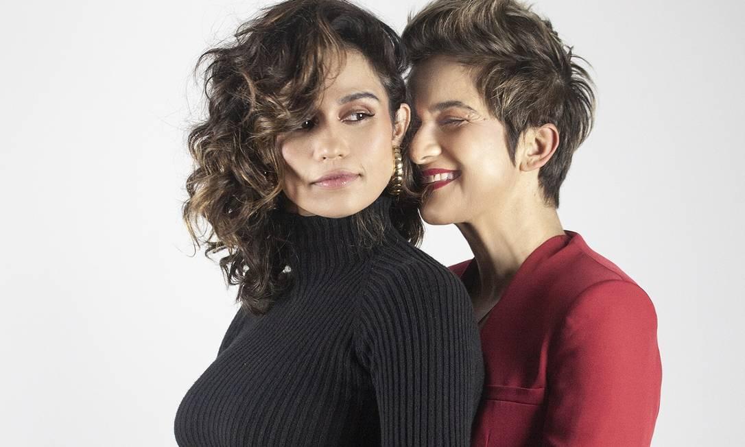 Nanda Costa e Lan Lanh: 'A vida começou a fazer mais sentido', diz a atriz Foto: Rê Duarte / Divulgação