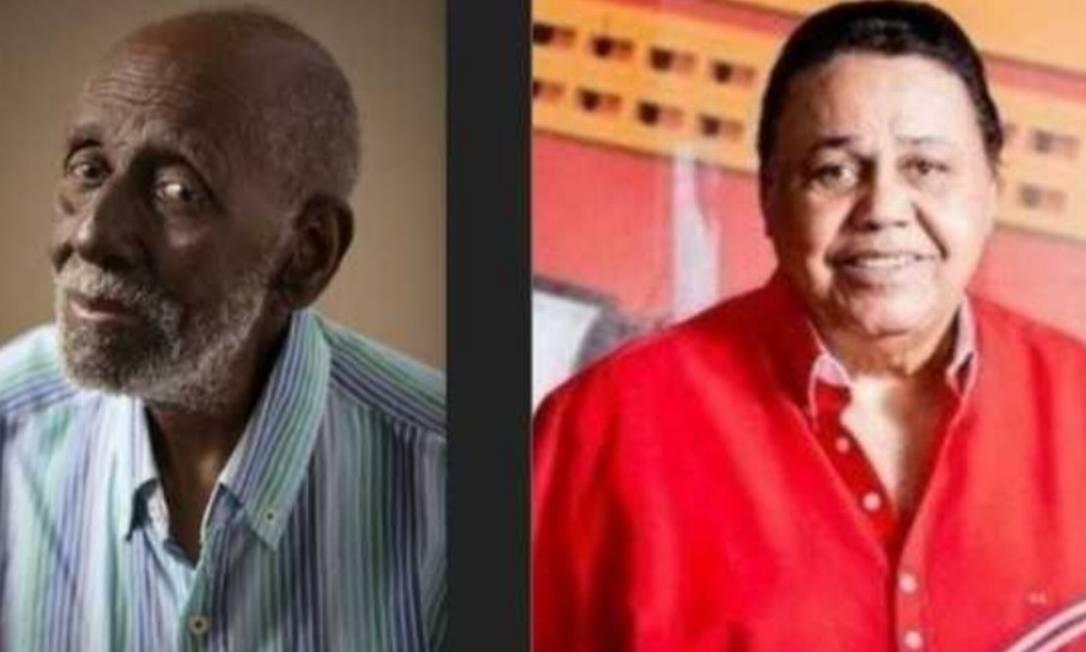 Nelson Sargento e Dominguinhos: homenagem a dois bambas Foto: Reprodução
