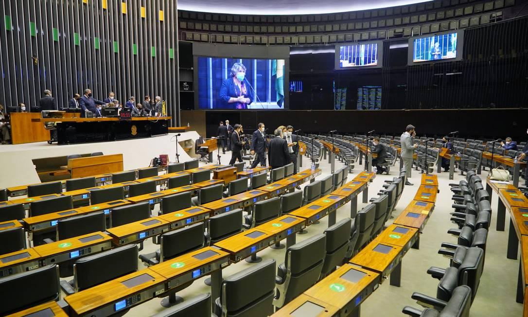 Câmara dos Deputados em sessão celiberativa Foto: Pablo Valadares/Câmara dos Deputados / Pablo Valadares/Câmara dos Deputados