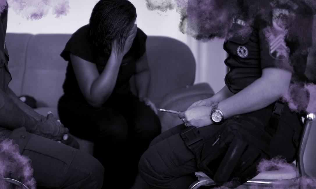 Foram contabilizados 230.160 registros de lesão corporal dolosa cometida em contexto de violência doméstica em 2020 Foto: Agência O Globo