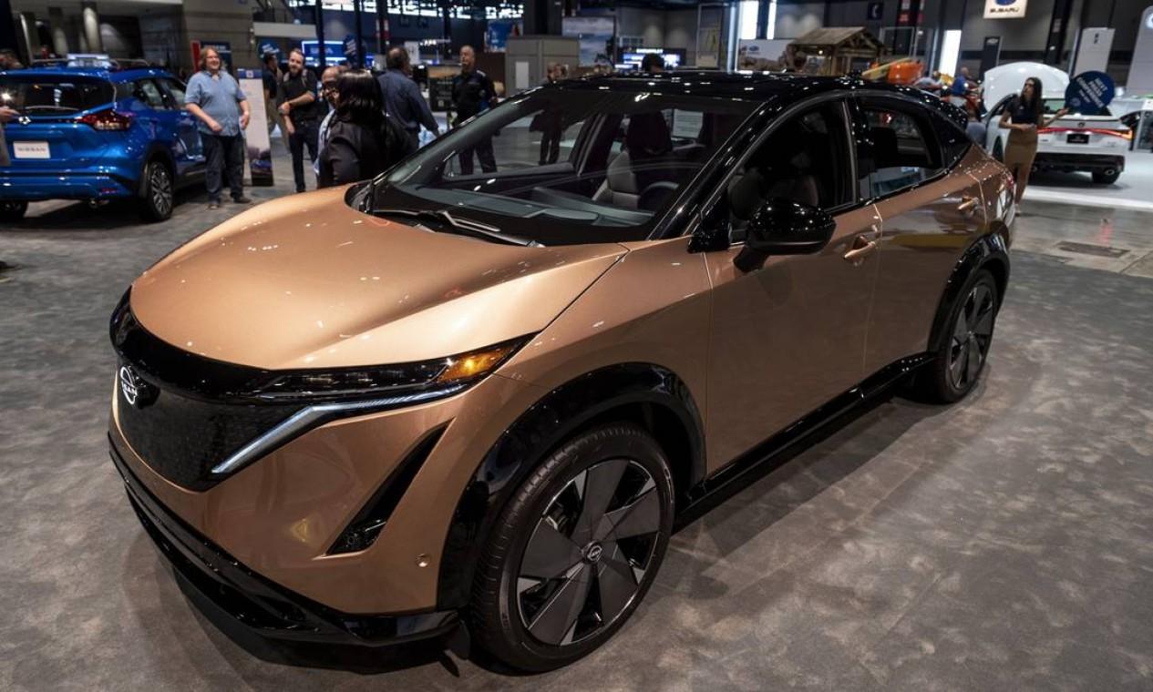 SUV elétrico Nissan Ariya 2022 Foto: Christopher Dilts / Bloomberg