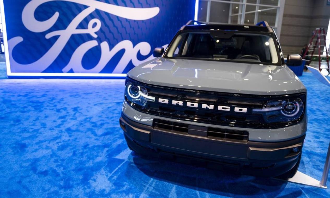 Utilitário esportivo (SUV) Ford Motor Bronco Sport Foto: Christopher Dilts / Bloomberg