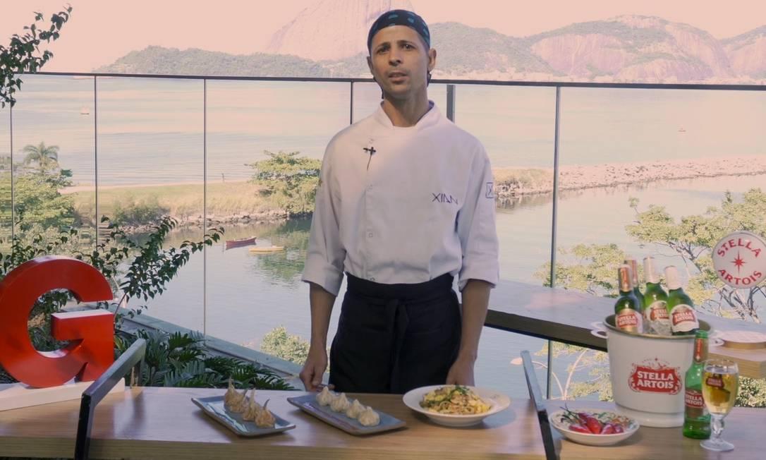 Henrique de Oliveira: chef do Xian Foto: Reprodução