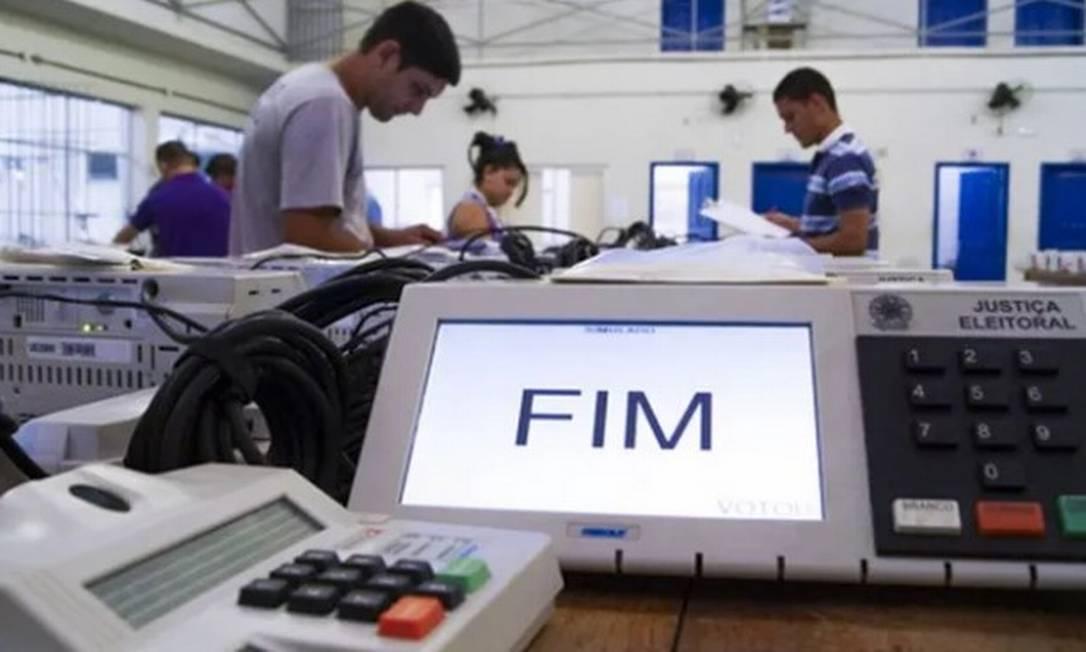 Urnas eletrônicas são preparadas para votação Foto: TRE / PA